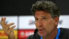 El entrenador del Gremio, Renato Gaúcho, en una conferencia de prensa
