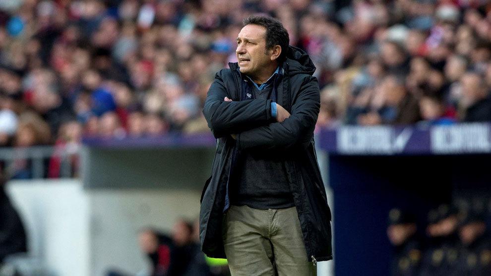 Eursebio, entrenador de la Real Sociedad.