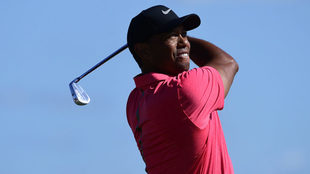 Tiger Woods descostró su calidad en el Hero World Challenge