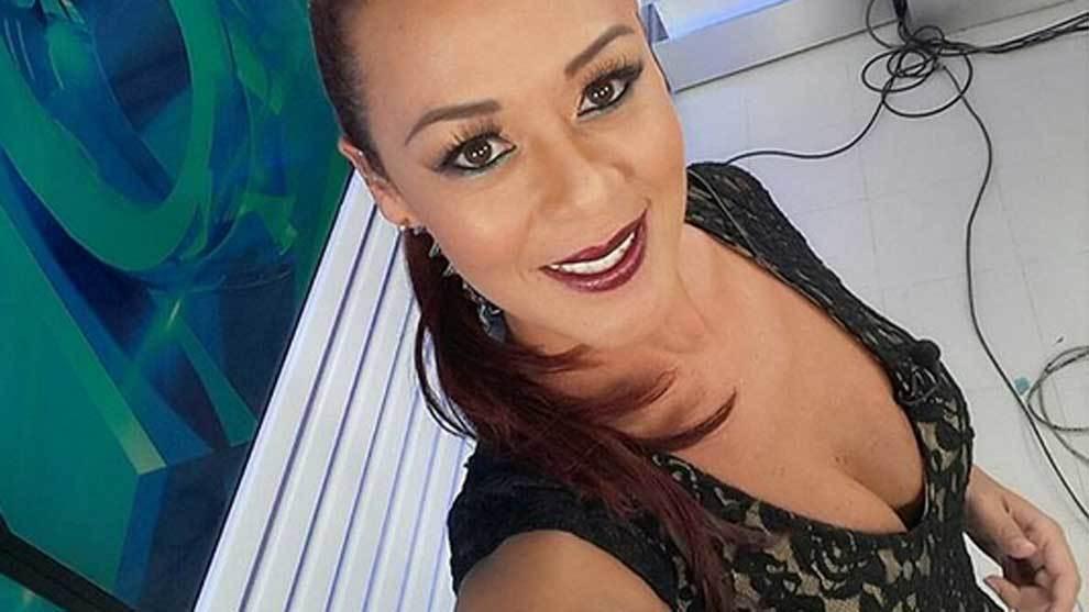 Fernanda Kanno, famosa presentadora de la televisión peruana,...