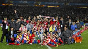 Atlético, campeón de la Europa League de 2010