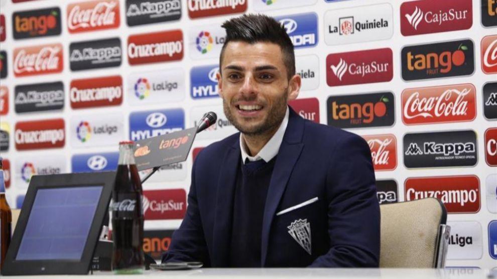 Jorge Romero (32), en su etapa como preparador del Córdoba B.