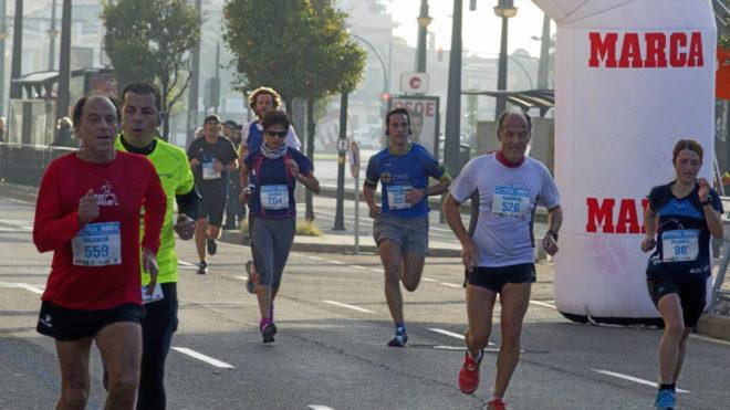 Imagen de la Sanitas Running Series de Valencia en 2016.