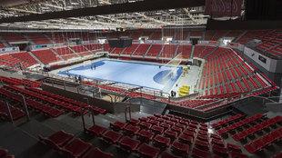 Pabellón Príncipe Felipe, sede de la fase final de la Copa de Europa