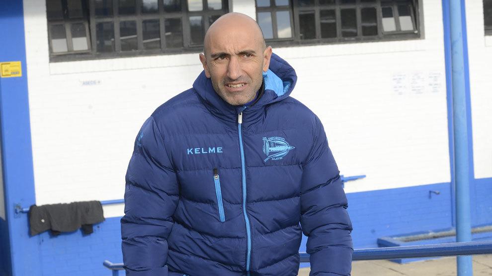 Abelardo, entrenador del Alavés.