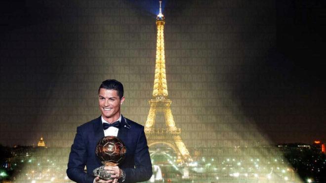 Cristiano recibirá el Balón de Oro 2017.