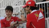 Leclerc (i) y Giovinazzi (d), en el GP de Bakú