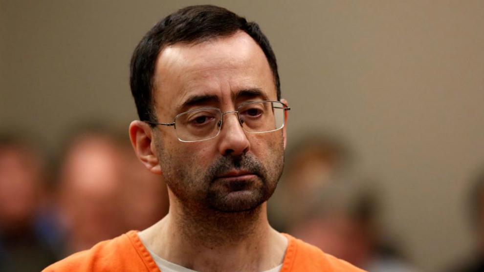 Larry Nassar, ante el tribunal