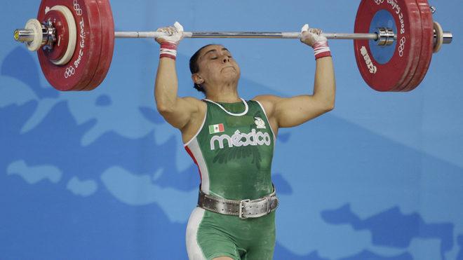 La mexicana, en competencia durante Beijing 2008