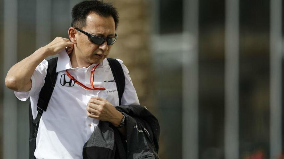 Yusuke Hasegawa, en el GP de Abu Dabi