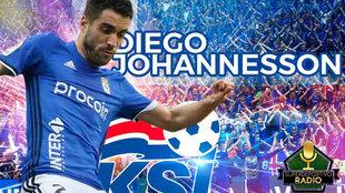 Diego Johannesson, defensa de Islandia.