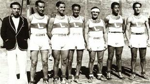 Imagen del Laietà Basket Club, fundado en 1922