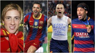 Torres, Xavi, Iniesta y Neymar, algunos de los finalistas al Balón de...