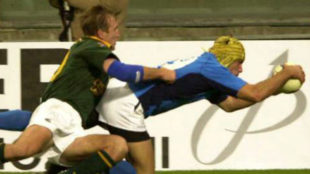Bennati, placado en un partido ante Sudáfrica