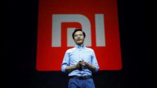 El director ejecutivo de la compañía de telefonía china Xiaomi...