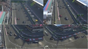 El triple adelantamiento de Ricciardo en Bakú
