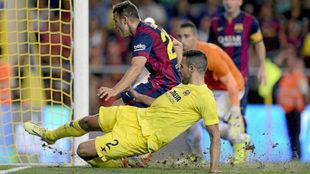 Villarreal vs Barcelona: 10 de diciembre de 2017, a las 20:45 horas.