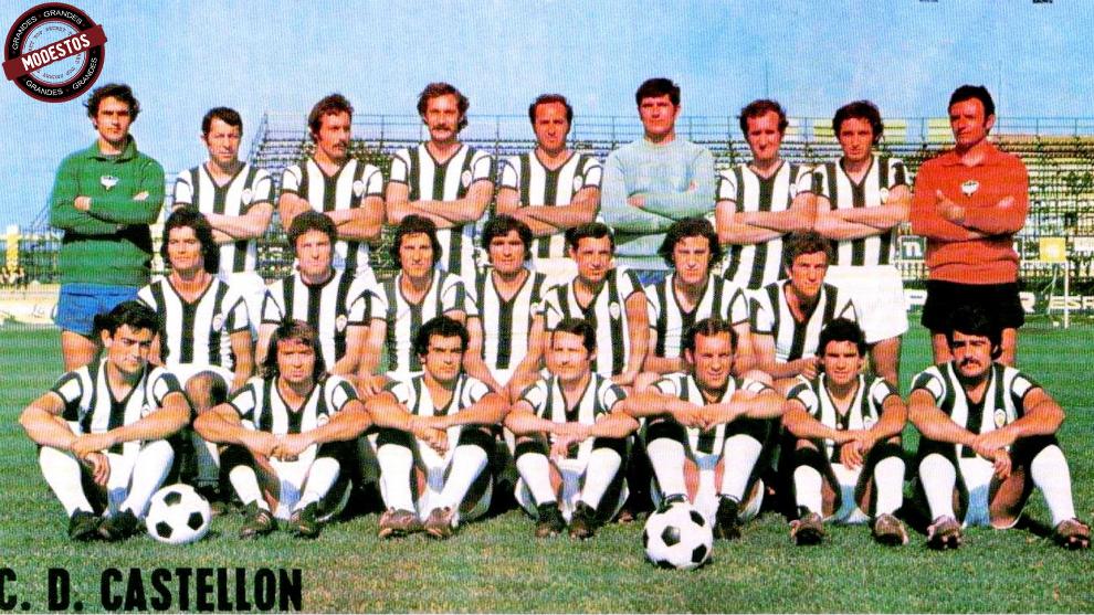 El equipo del Castellón en la temporada 1972-73