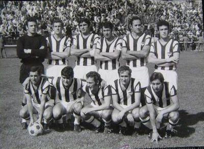 Un once inicial de 1972, en Segunda