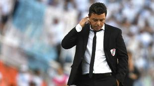 Marcelo Gallardo durante la final de la Copa Argentina