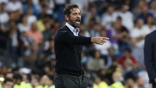 Quique Sánchez Flores, entrenador del Espanyol.
