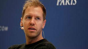 Sebastian Vettel, en la gala de la FIA
