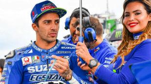 Andrea Iannone (Suzuki), en un GP esta temporada