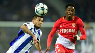 Jesús Corona, en un partido con el Oporto en Champions