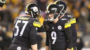 Boswell se mantuvo fino, y tuvo a Steelers en la pelea.