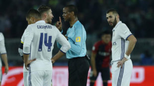Sergio Ramos, advertido por el colegiado en la última final del...