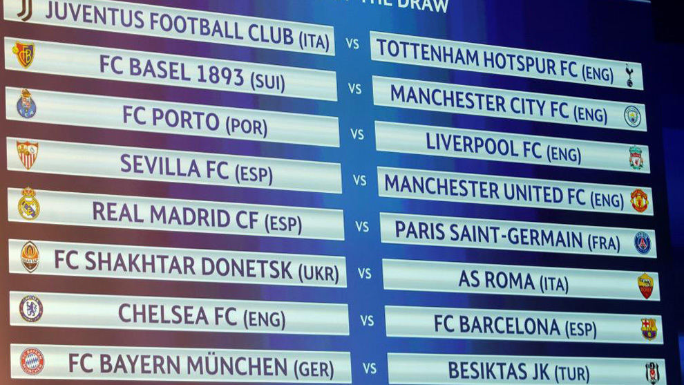 Calendario Uefa Champions League.Calendario Champions League 2017 2018 Fechas Horarios Y Tv