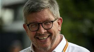 Ross Brawn, director técnico y deportivo de la Fórmula 1