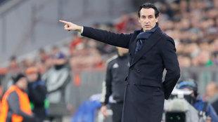 Unai Emery, entrenador del PSG.