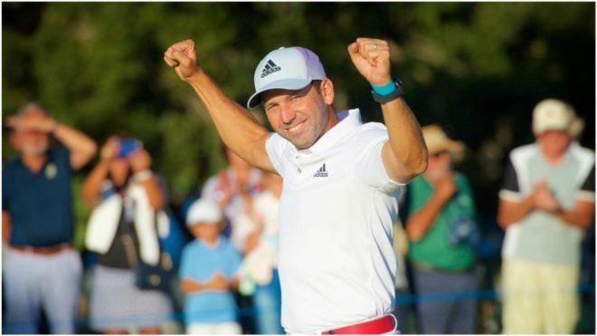 Sergio García tras ganar en Valderrama (37 años).