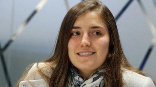 Tatiana Calderón, piloto de Sauber.
