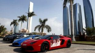 La colección de coches de Mansour Bin Zayed es impresionante