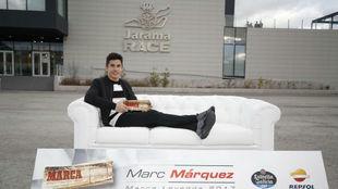 Márquez, ayer en el Jarama