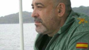 El ex legionario Victor Lainez