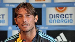 Gabriel Heinze en su etapa como jugador.