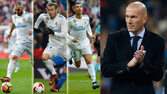 Y si vuelve la BBC, ¿quién sobra en el Madrid de Zidane?