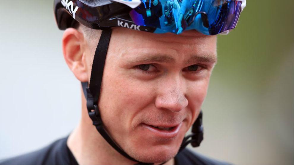 Chris Froome, durante el pasado Tour de Francia.
