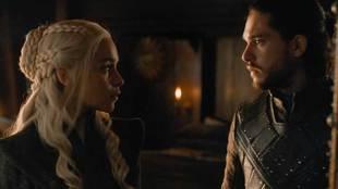 Jon Nieve (Kit Harington) y Daenerys Targaryen (Emilia Clarke) en...