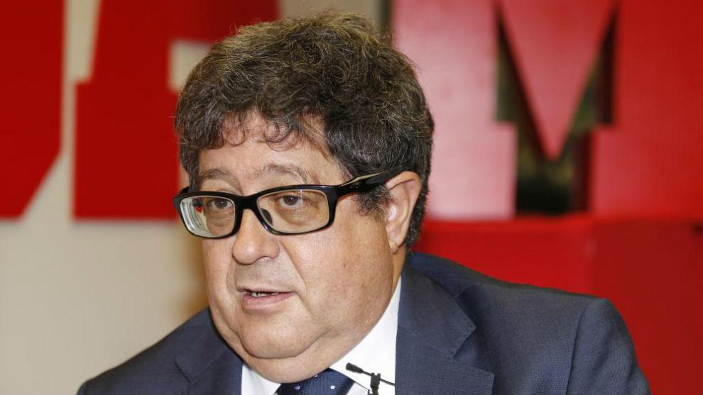 José Luis Terreros, durante una entrevista en la redacción de MARCA.