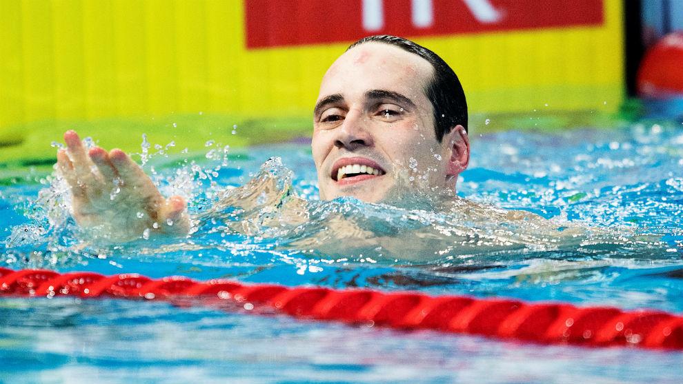 Fabio Scozzoli, ganador de los 50 braza con récord de Europa.