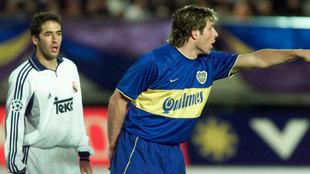 La final de la Intercontinental entre el Madrid y el Boca Juniors de...