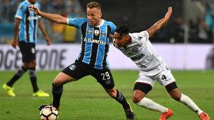 Arthur, en la final de la Libertadores