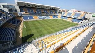 Vista del Estadio Ramón de Carranza.