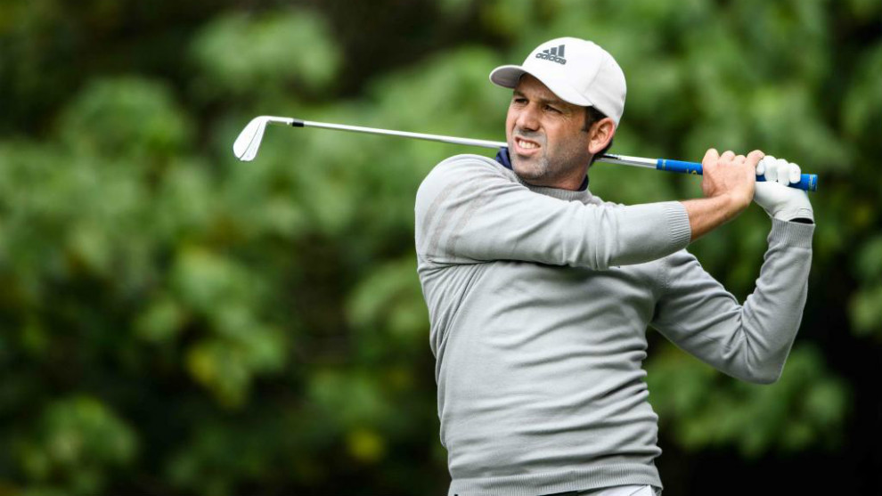 Sergio García, en el Open de Hong Kong