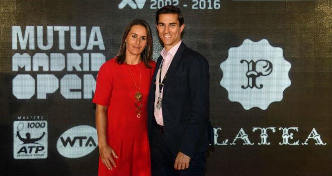 Anabel Medina junto a su pareja, Antonio Arenas.