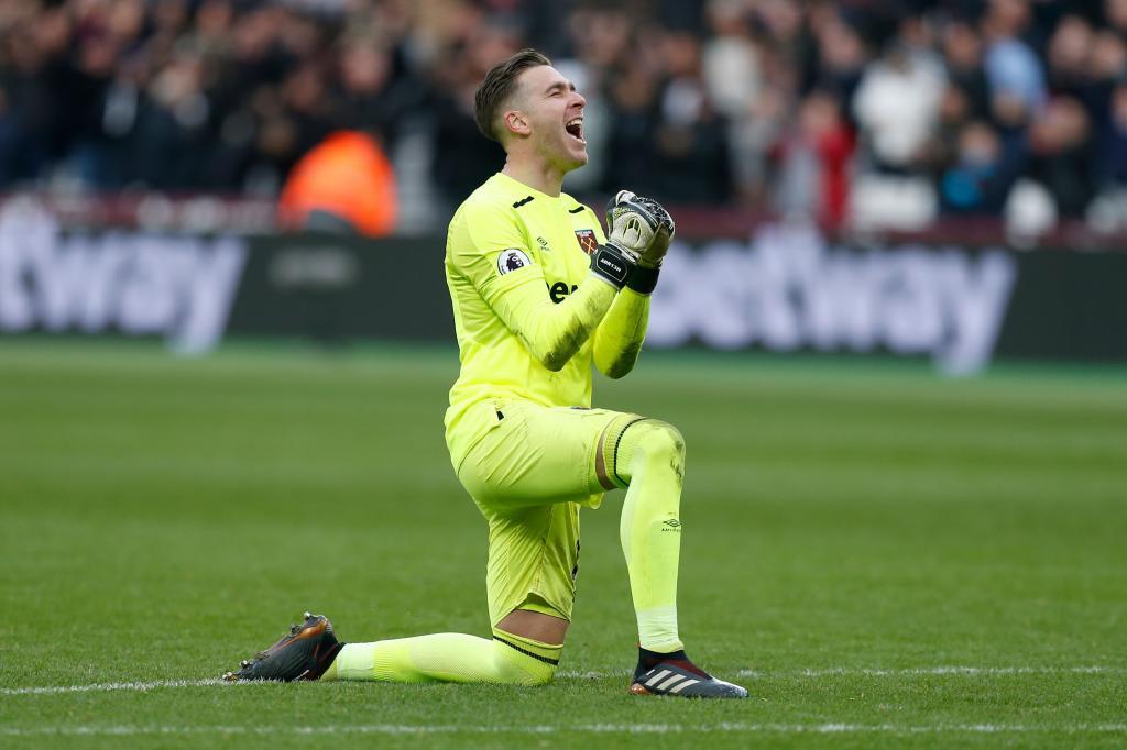 Premier League: Adrián San Miguel, el número 1 del West Ham que ...